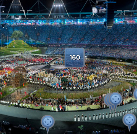 Sports Illustrated 2012 Olympics Opening Ceremony, David Bergman